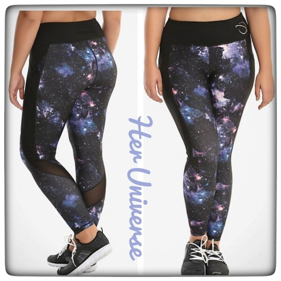 0e81397aa9bc0 Her Universe Pants - NWOT ~ HER UNIVERSE Galaxy Girl Active Leggings